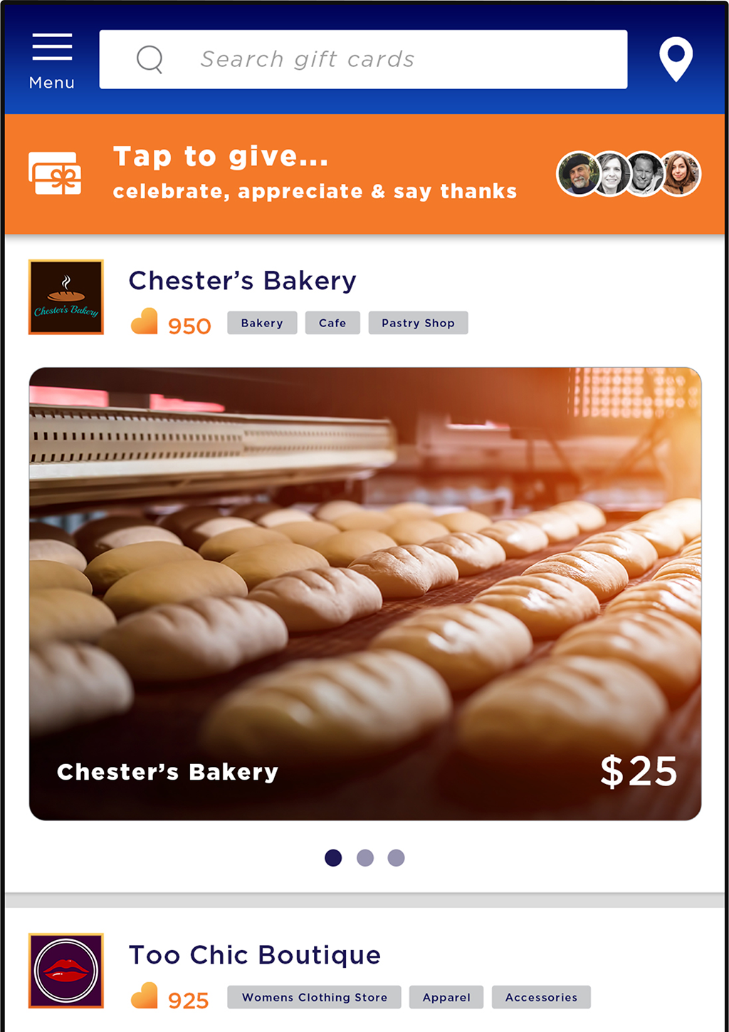 Ask for Referrals, Share Referrals and Shop Local Gift Cards - Favly